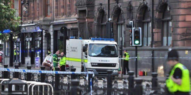 Newcastle University Bomb Scare: Two Russian Students