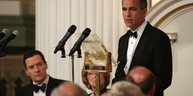 LONDON, ENGLAND - JUNE 12: Mark Carney, Governor of the Bank of England, speaks at the 'Lord Mayor's...