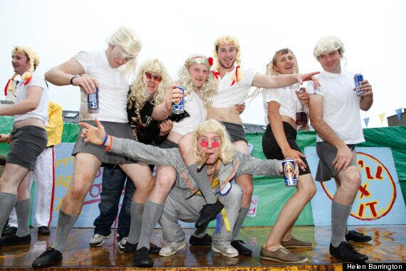 Jimmy Savile Themed Fancy Dress Float Wins Third Place In Annual Parade