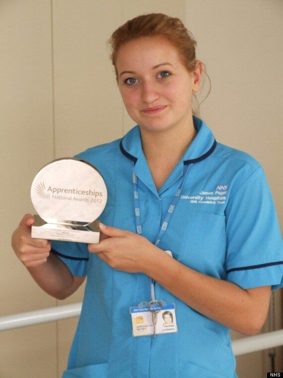Apprentice Of The Week: NHS Therapy Apprentice Lily