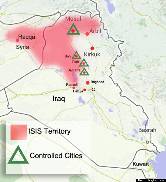 ISIS Loots £250m From Mosul's Central Bank And Rockets Them Up Terror Rich