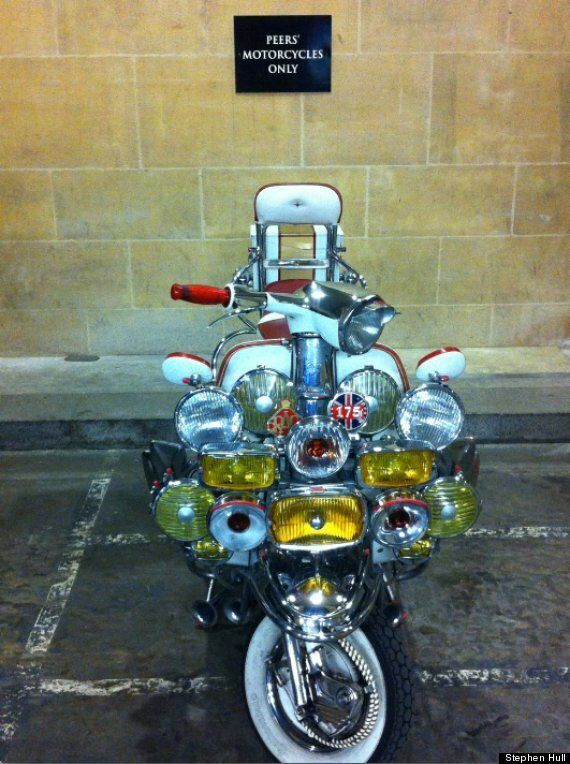 Which House Of Lords Peer Rides A Quadrophenia-Style