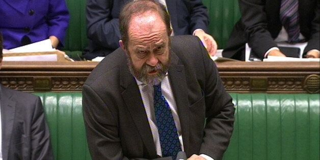 Agriculture minister David Heath tells MPs in the House of Commons, London that tests for traces of the...