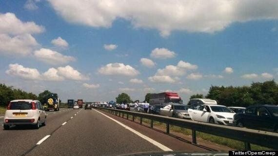 Mother Killed And Newborn Baby Airlifted To Hospital After M40