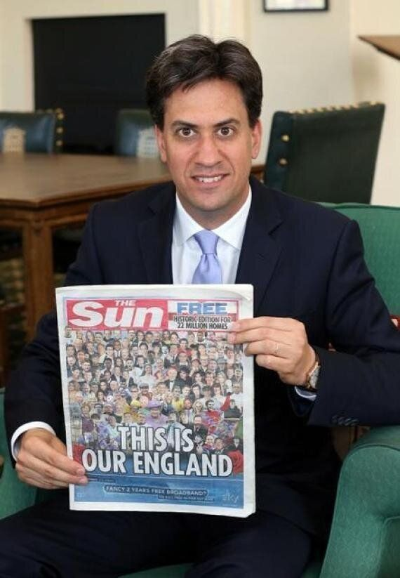 The Sun Absolutely Tears Into Ed Miliband After Labour Leader Apologised For Holding Promotional