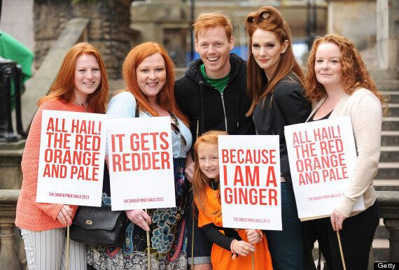 Ginger Pride March On Streets Of