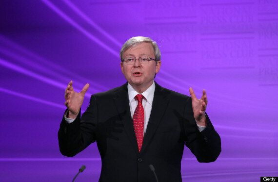 Australia's Prime Minister Kevin Rudd Pledges To Introduce Gay