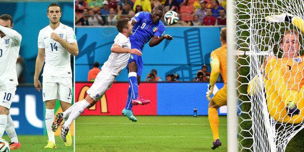 England 1-2 Italy: Mario Balotelli Gets World Cup