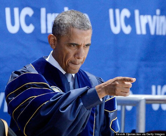 Barack Obama Compares Climate Change Deniers To People Who Believe 'Moon Is Made Of
