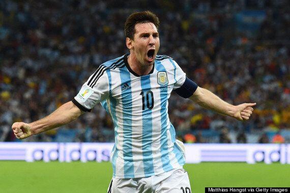Argentina 2-1 Bosnia And Herzegovina: Lionel Messi Hits
