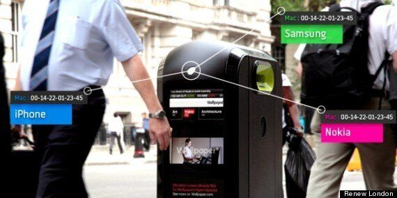 WiFi Bins To Stop Collecting Smartphone Data In London After