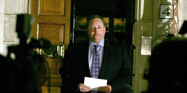 Liberal Democrat Chief Executive, Lord Rennard pictured outside his party headquarters, London, Monday...