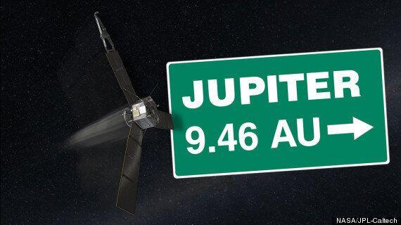 Nasa's Juno Spacecraft Is Halfway To Jupiter (But It's Headed Back Towards