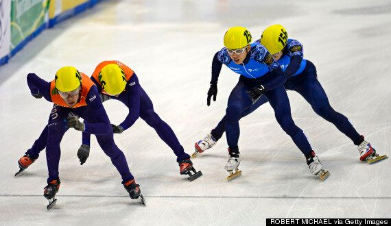 Speed Skater Sjinkie Knegt Disqualfied For Two-Fingered Salute After European Championship Final