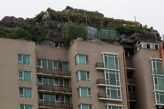 Beijing Rooftop Mountain House Ordered To Be Demolished By Chinese Officials
