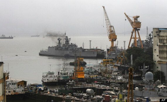 Mumbai Submarine Disaster: Deaths And 18 Trapped As Vessel Sinks After