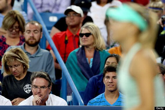 Maria Sharapova Loses First Match Coached By Jimmy Connors