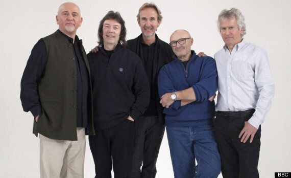 Genesis Reunite For The First Time Since 1975 For BBC