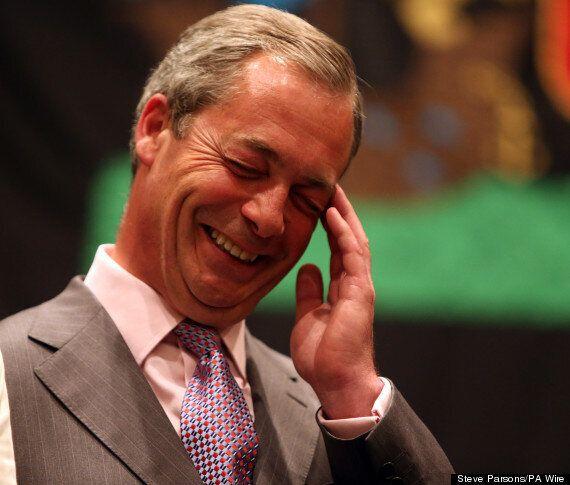 Ukip's Nigel Farage 'Is Like Simon Cowell', Labour Is 'A Slob On A Sofa,' Poll