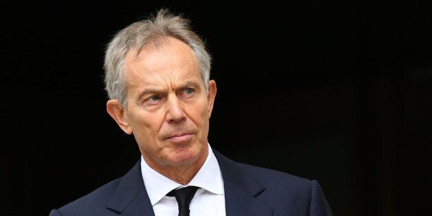 File photo dated 17/04/12 of Tony Blair who has insisted he is not the reason for the delay in the publication...