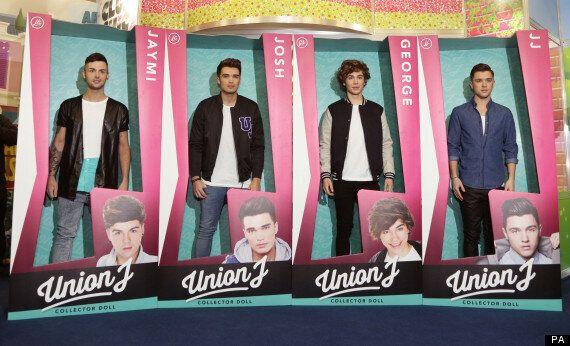 Union J Stars Josh Cuthbert, Jaymi Hensley, JJ Hamblett And George Shelley Turned Into