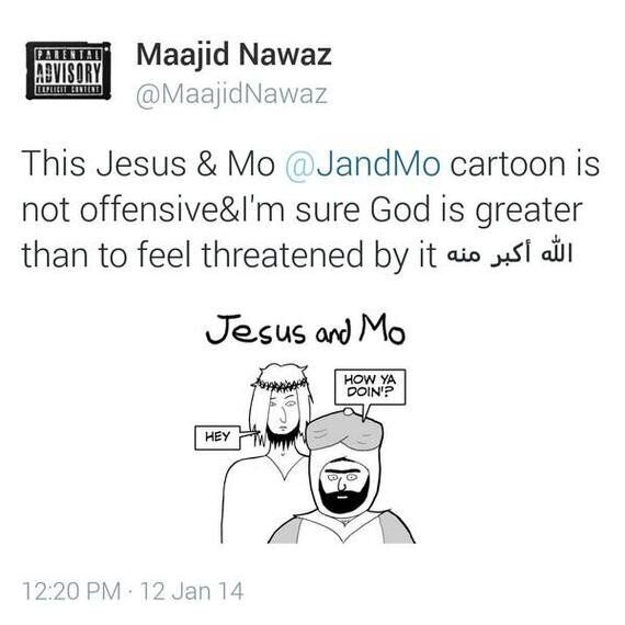 Jesus and Mo Go to