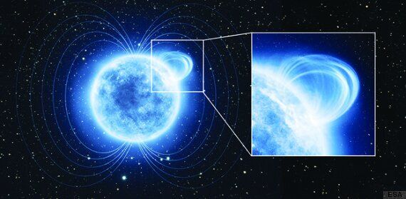 Mysterious 'Magnetar' Might Be The Largest-Known Magnetic Field In The