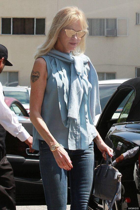 Melanie Griffith Covers Antonio Banderas Tattoo Following Marriage Split