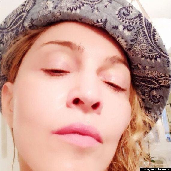 Madonna Is Barely Recognisable In Instagram Selfie Wearing A Clay Face Mask