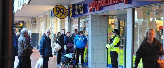 Fury As 99p Shop Cancels Sale In Wrexham, Police