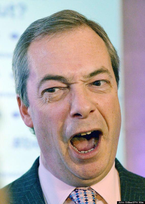 Nigel Farage's 'Daily Express' Column