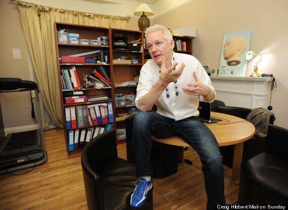 Julian Assange's Life Inside A Converted Women's Toilet At The Ecuadorian
