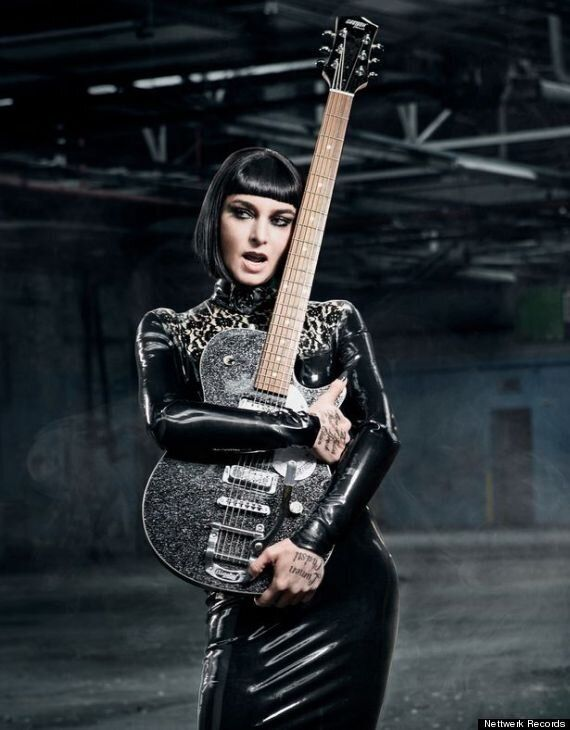 Sinead O'Connor's Reinvention Continues With Another Glam Look For The Cover Of Her Single, 'Take Me...