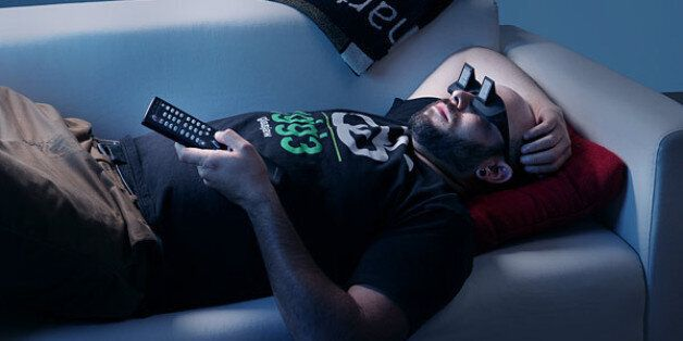 'LazyGlasses' Have Angled Mirrors Inside So You Can Watch TV On Your Back