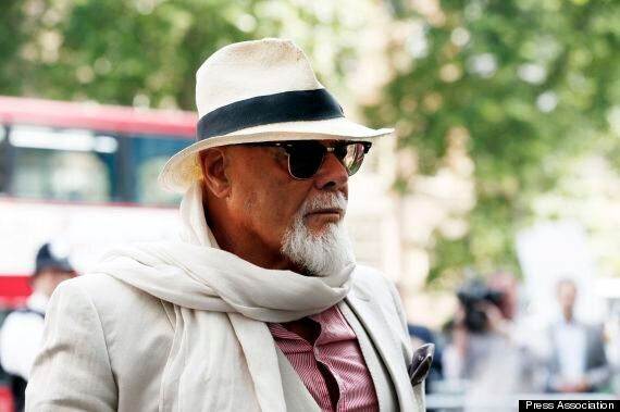 Gary Glitter Appears At Court To Face Operation Yewtree Sex