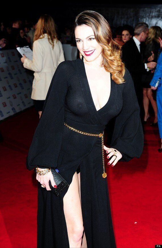 National Television Awards 2014: Kelly Brook Suffers ...