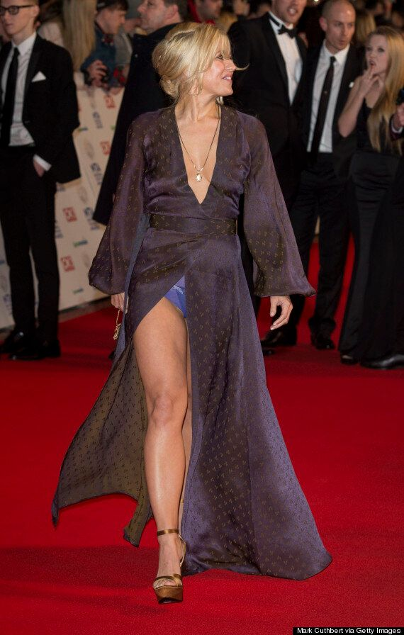 NTAs 2014: 'EastEnders' Star Rachel Wilde Flashes Her Pants After Suffering Major Wardrobe Malfunction...