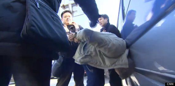 CNN And BBC Reporters Wrestled By Chinese Police While Trying To Cover Human Rights