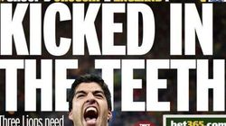 Uruguay 2-1 England: What The Papers