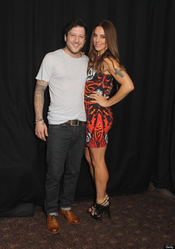 Mel C And Matt Cardle Snog On Stage At G-A-Y
