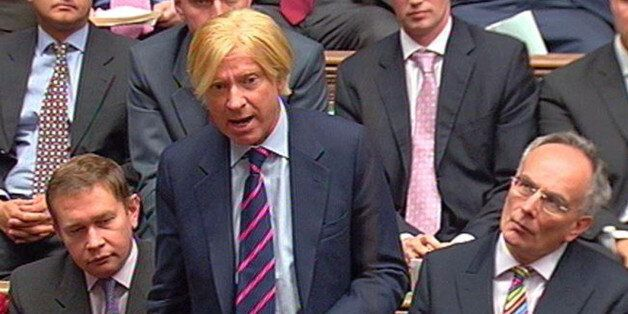 Michael Fabricant MP for Lichfield, speaks during Prime Minister's Questions in the House of