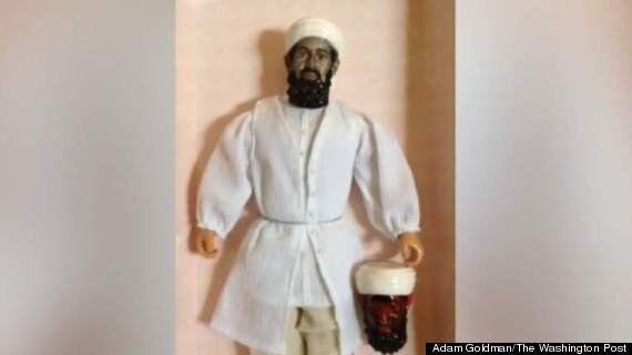 Osama Bin Laden 'Devil Eyes' Toy Created By The CIA