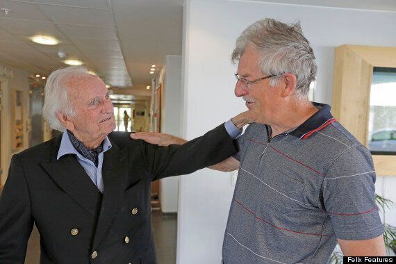 The Norwegian Ambassador Meets The Man He Saved From