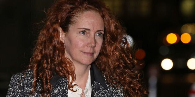 Rebekah Brooks leaves the Old Bailey in London, as the trial into phone hacking