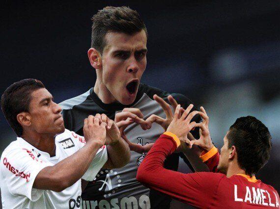 Erik Lamela And Paulinho To Replace Gareth Bale's Love Heart Celebration At