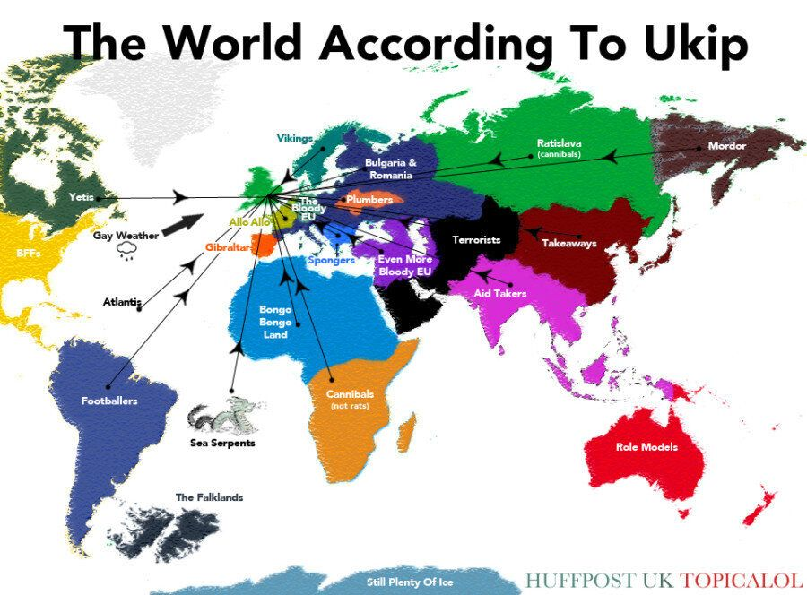 The World According To