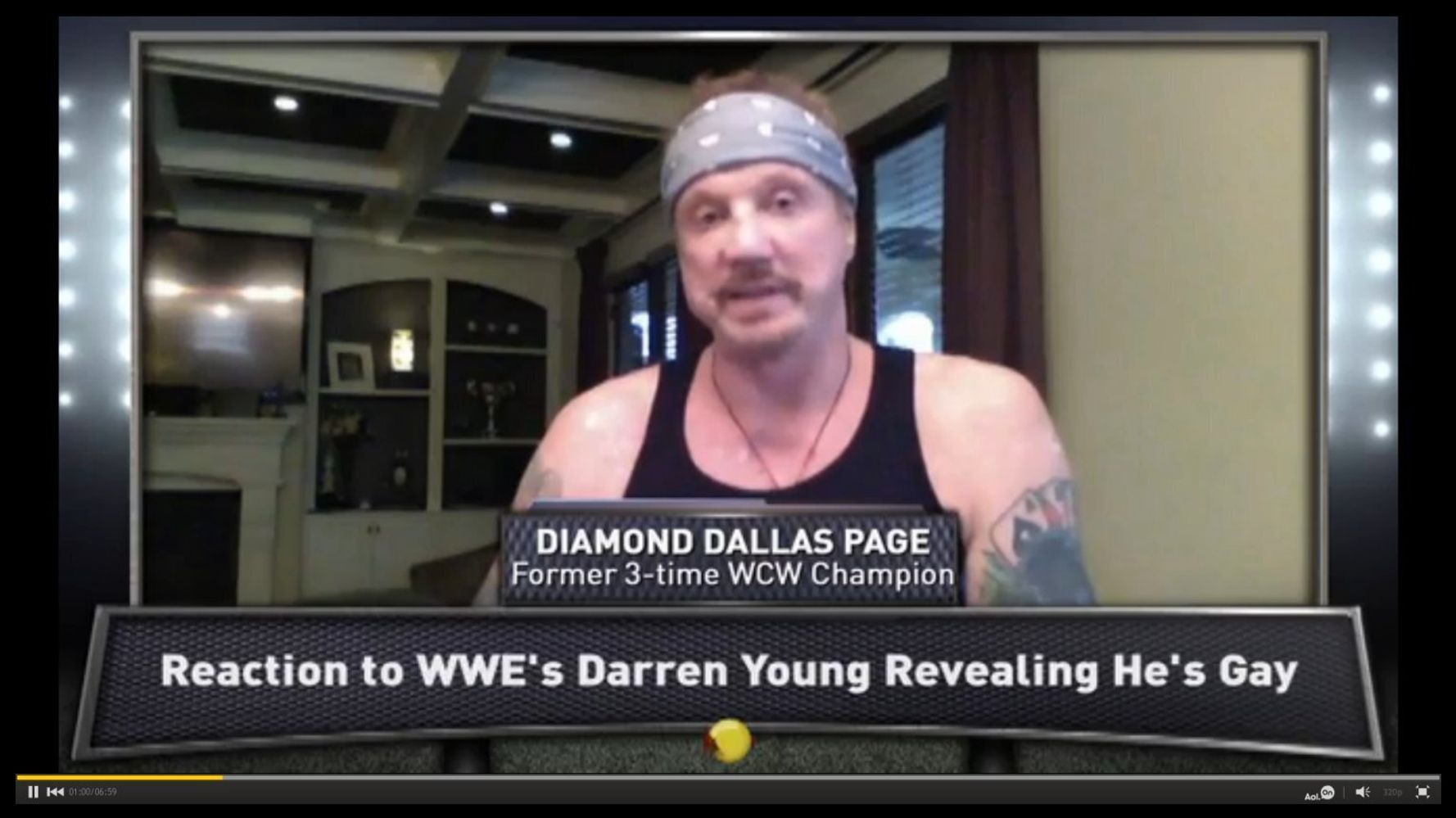 From Wrestling To Wellbeing Former Wcw Champion Diamond Dallas Page Uses Yoga To Save Lives Video Huffpost Uk Life