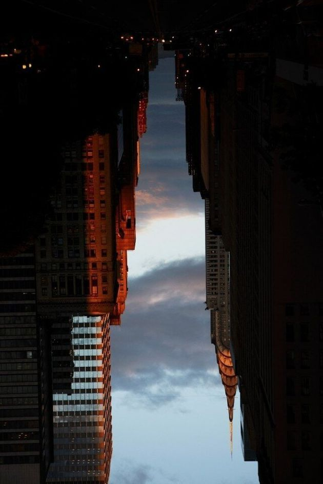 Buildings Made Of Sky: Photographer Peter Wegner Inverts New York