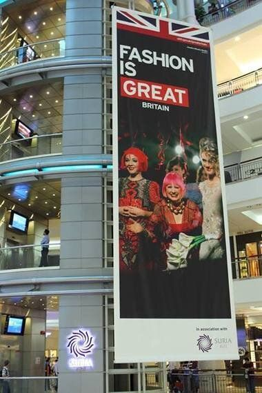 Fashion IS (Great) Britain! The Longest Poster in the