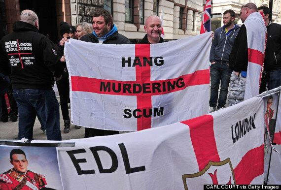 EDL March Against New Mosque That Turned Out To Be A KFC Cost Police